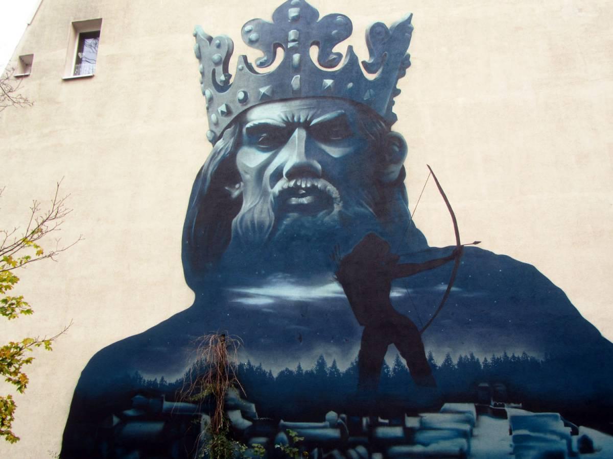 """""""Kazimierz"""" mural"""
