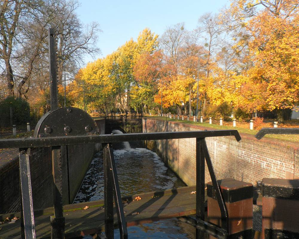 Lock no. 4 on the Old Bydgoszcz Canal