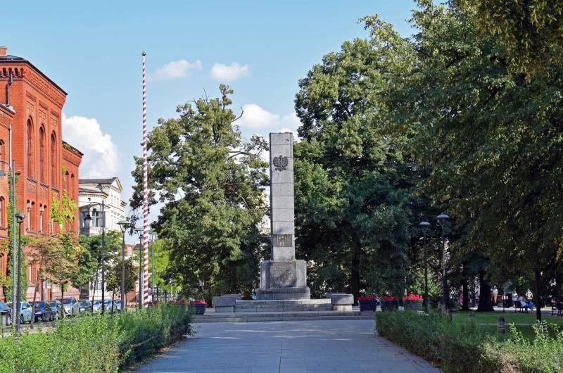 Obelisk na Placu Wolności