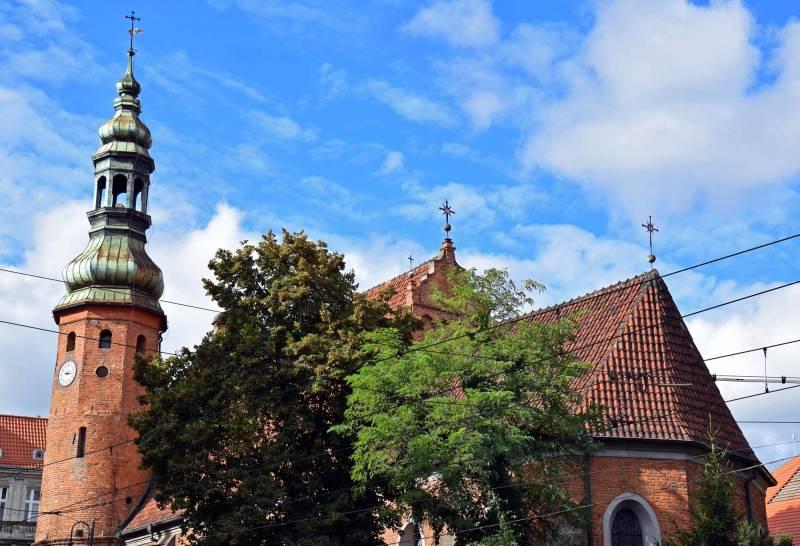Kościół pw. Wniebowzięcia Najświętszej Maryi Panny (Kościół Klarysek)