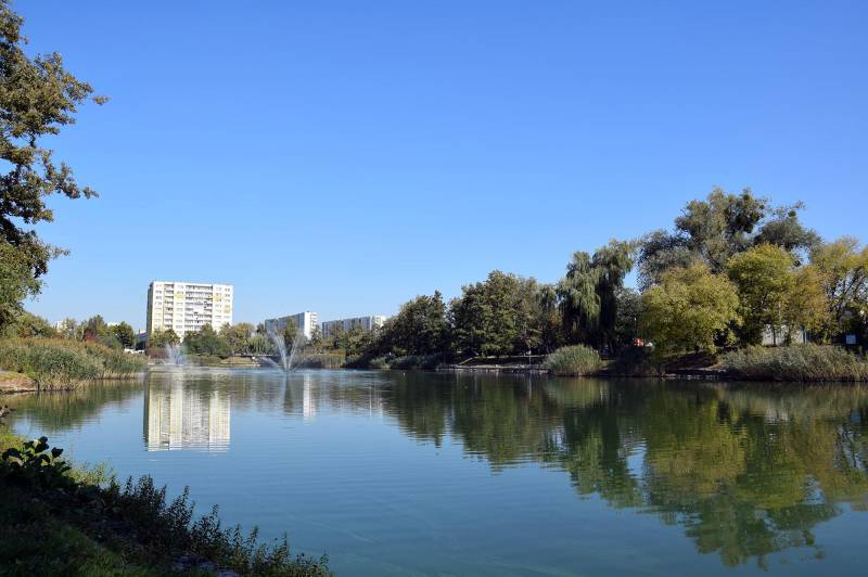 Bydgoski Balaton - park i jezoro