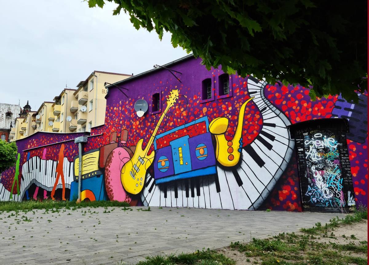 Mural - Estrada
