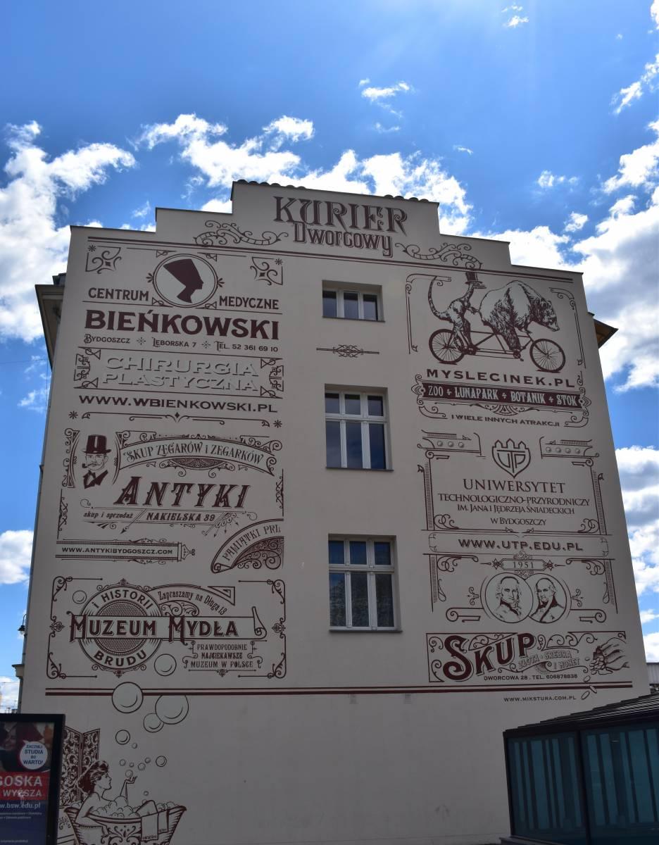 Retrościana on Dworcowa Street