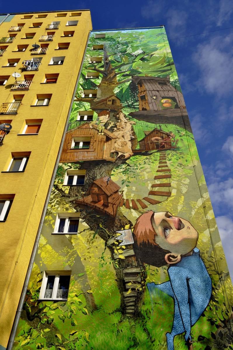 """Mural """"Piotruś Pan"""""""
