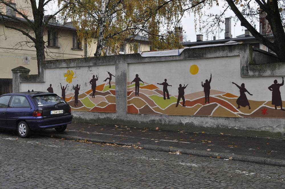 """Time"" mural"