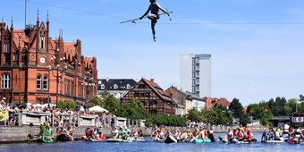 Tourist attractions by the river in Bydgoszcz