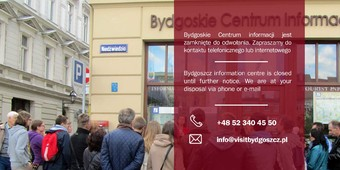 Bydgoszcz Information Centre is closed until further notice