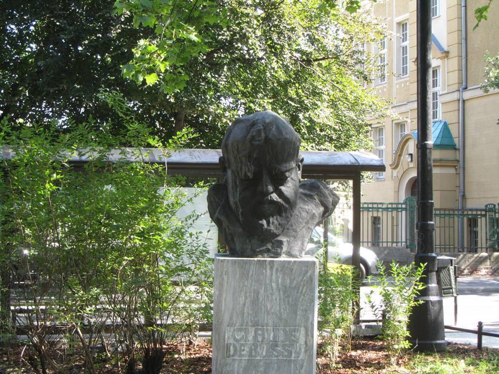 Claude Debussy Statue