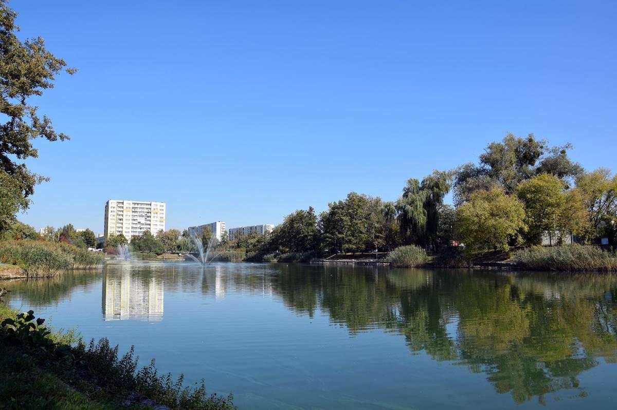 Bydgoski Balaton - park i jezioro