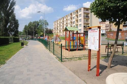 Plac zabaw przy Śluzie Miejskiej