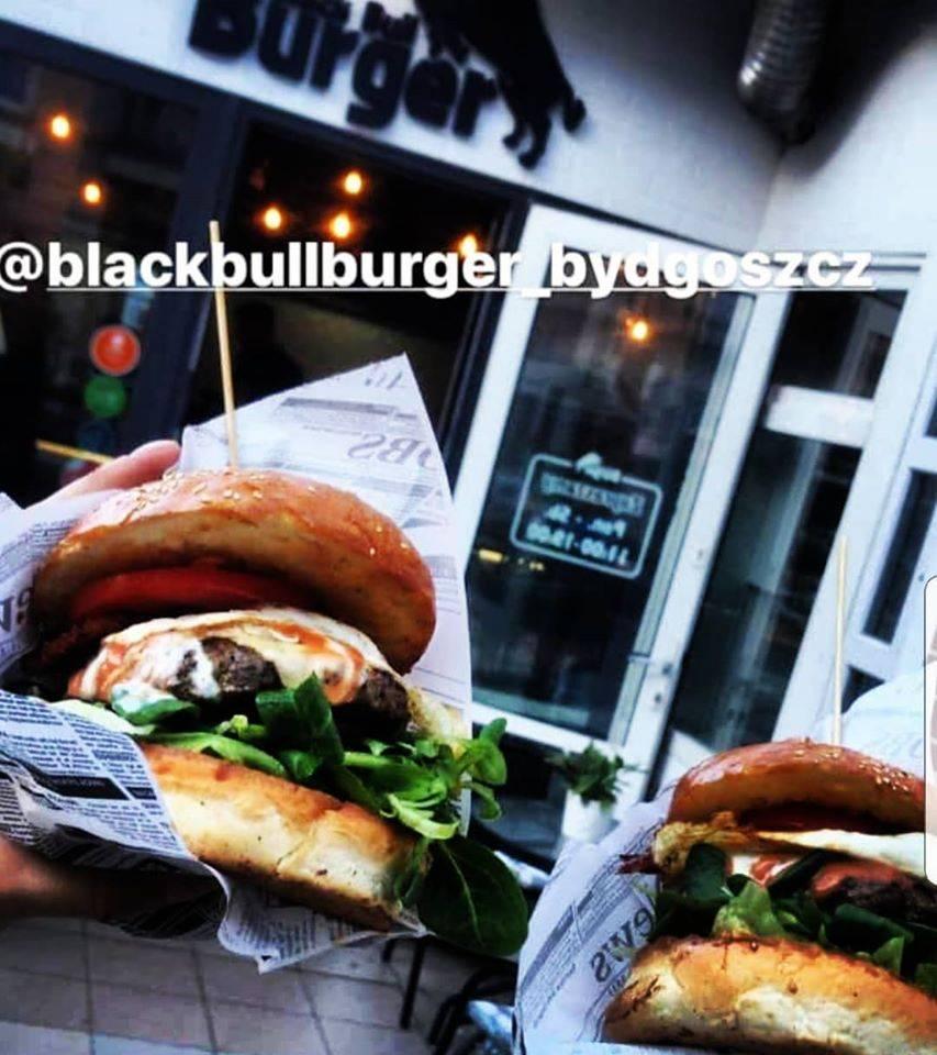 Black bull burger