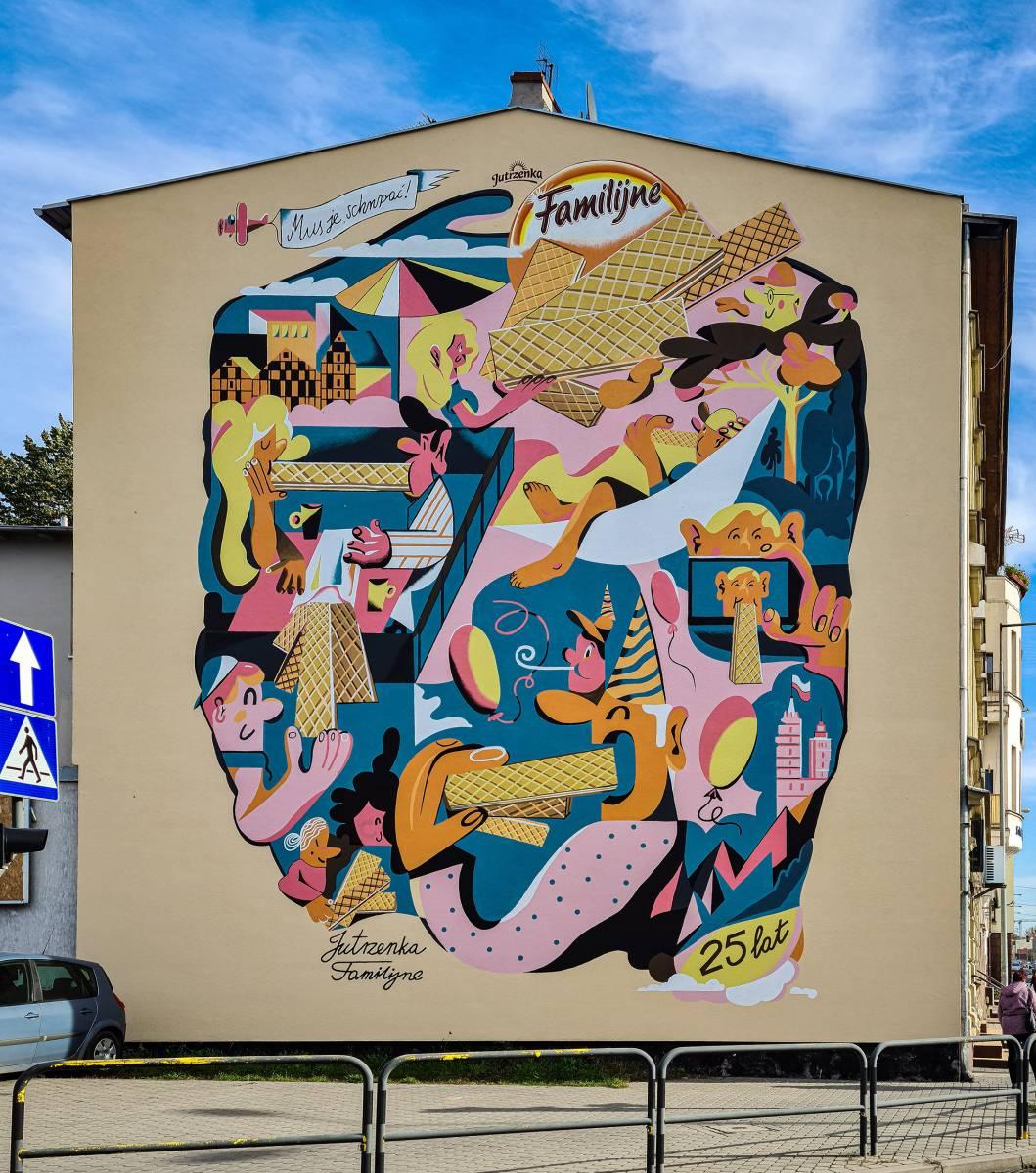 """""""Familijne"""" (Family) Wafers in Bydgoszcz"""