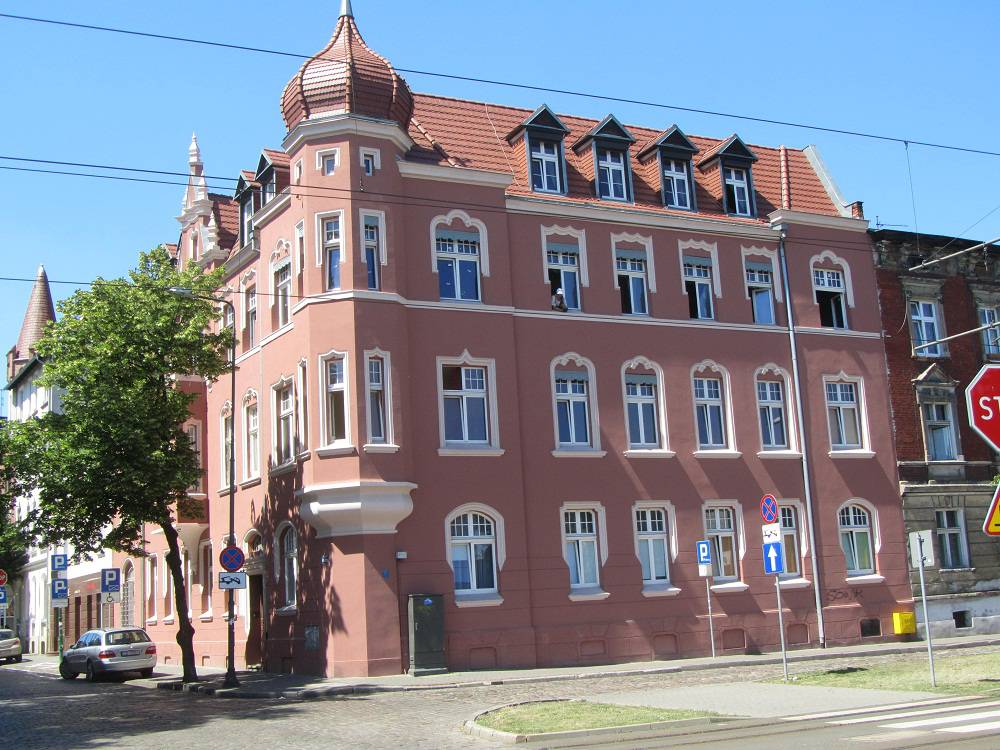 Tenement House from early 20th century