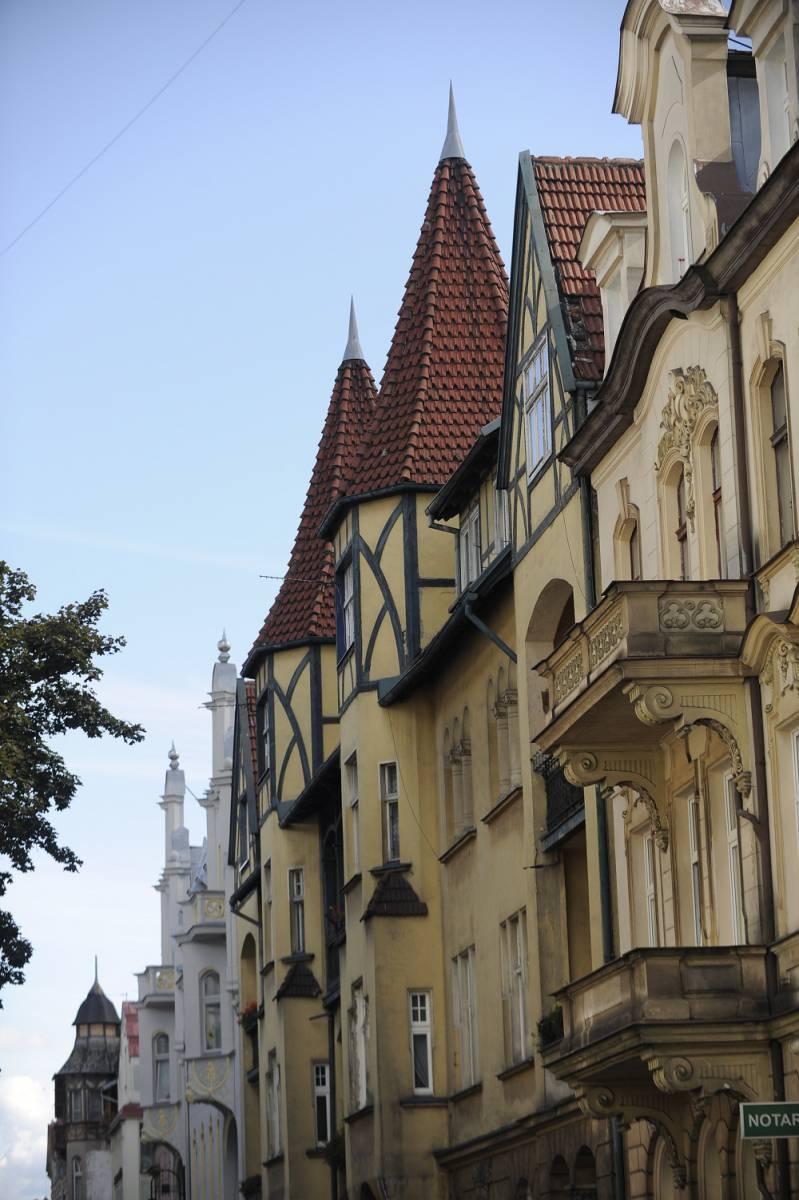 Kamienice przy ulicy Cieszkowskiego