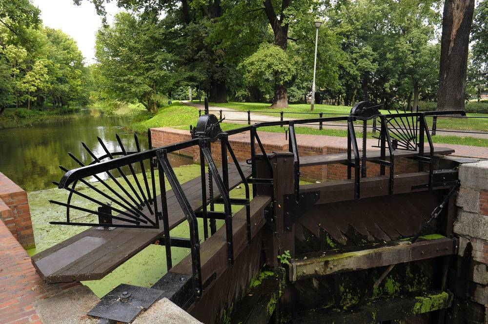 Lock no. 5 on the Old Bydgoszcz Canal