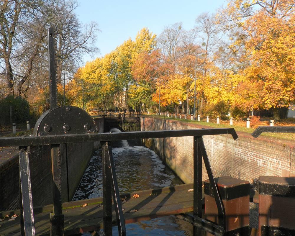 IV Śluza na Starym Kanale Bydgoskim
