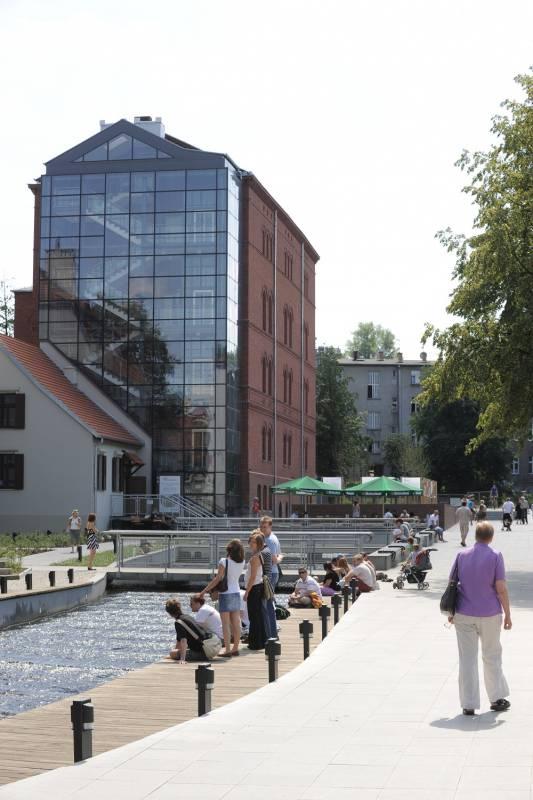 Międzywodzie- the between water area
