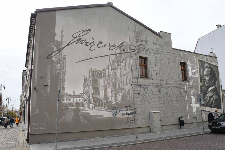 Jozef Swiecicki's mural