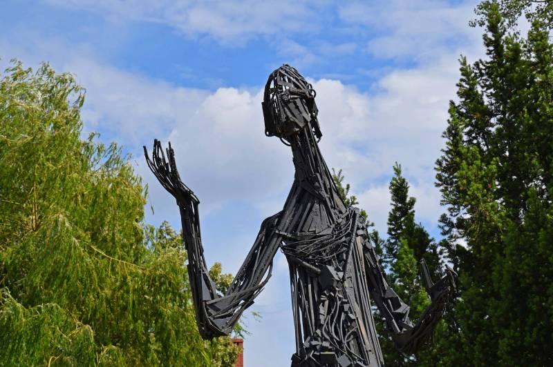 Metal Statue of Nicolaus Copernicus