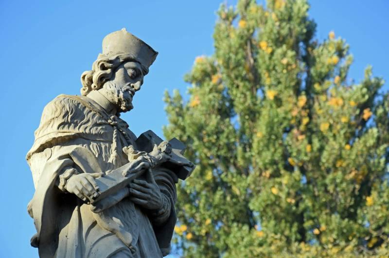 Sculpture of St John Nepomucene