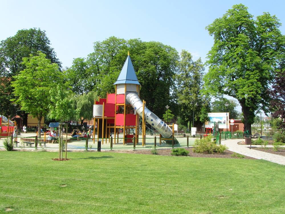 Magic Playground on the Mill Island