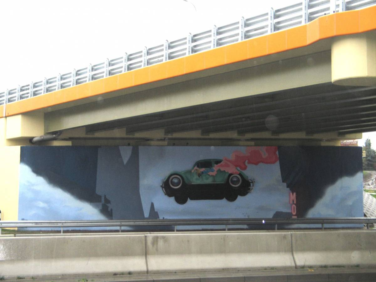 The Beetle flies over Bydgoszcz (Push the limits)
