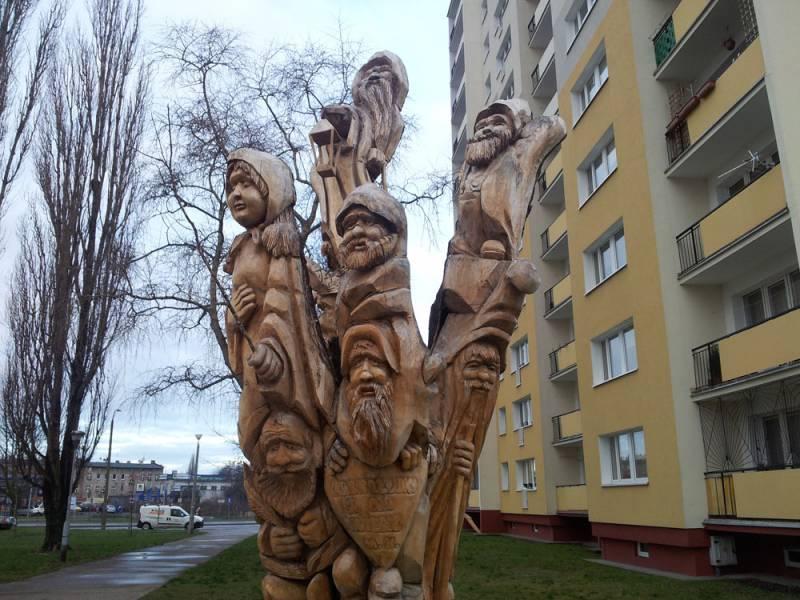 Pomnik krasnoludków