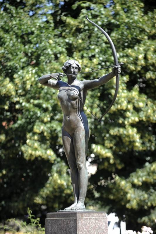 Rzeźba Łuczniczki