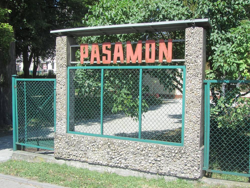 "Fabryka pasmanterii, taśm i pasów ""Pasamon"""