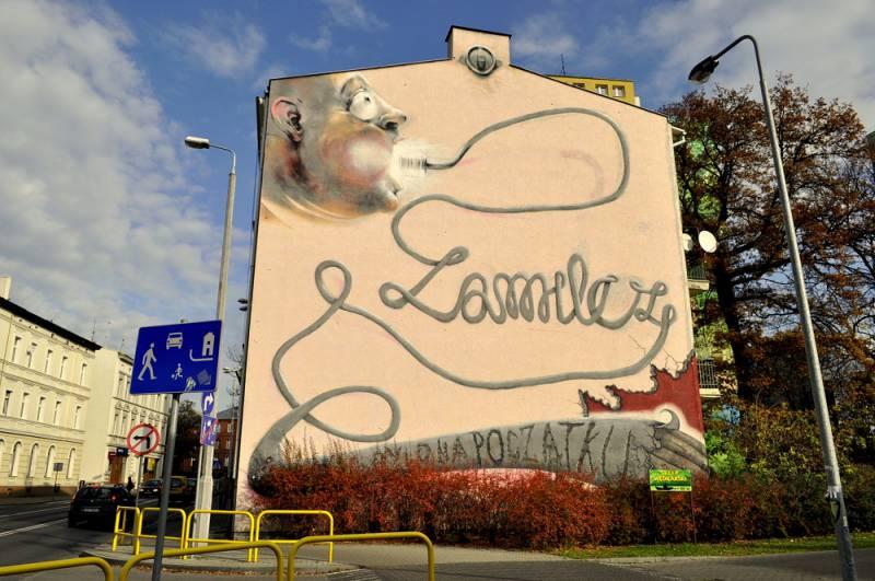"Mural ""Zamilcz"""