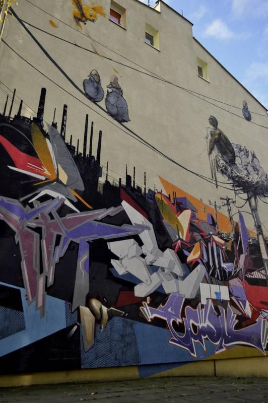 """""""Birdy"""" mural"""