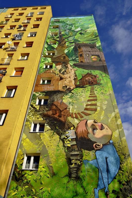 """""""Peter Pan"""" mural"""