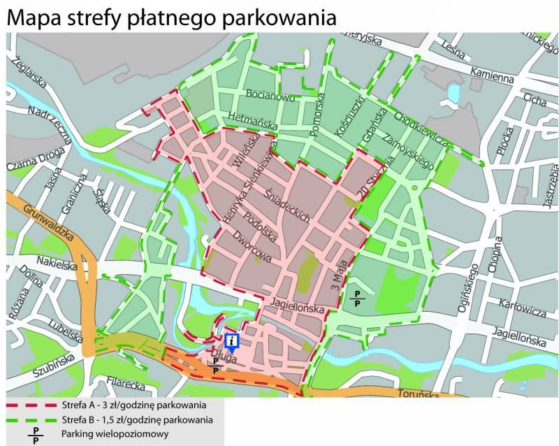 Paid Parking Zones
