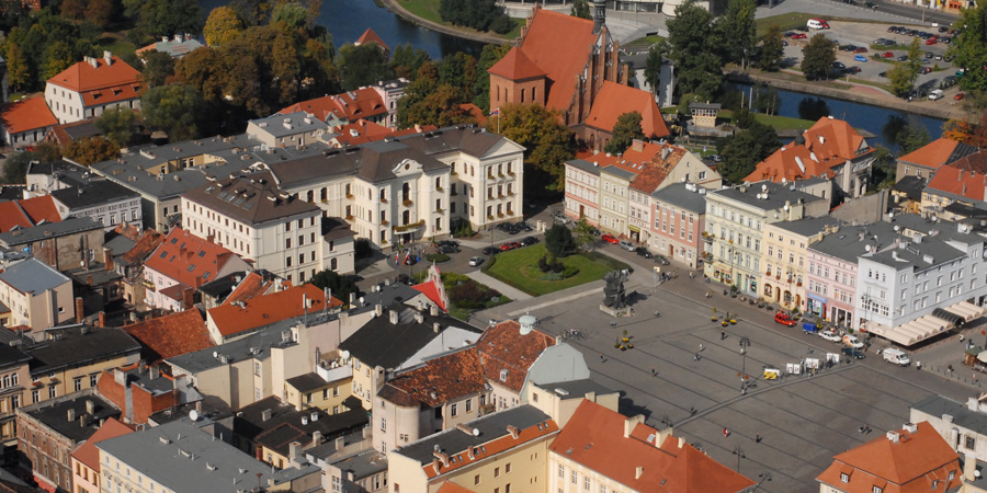 The Old Market Square, Bydgoszcz