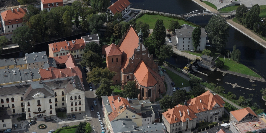 Bydgoszcz Cathedral | Bird's eye view | fot.R.Sawicki