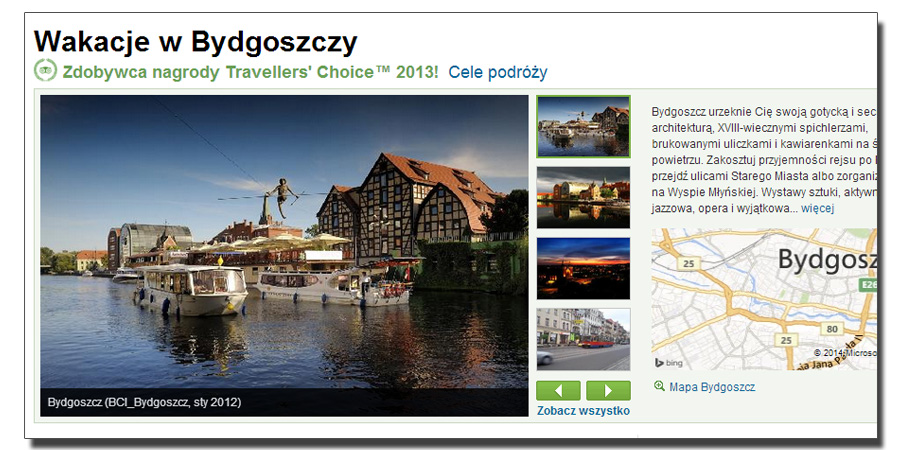 screen from the tripadvisor.com